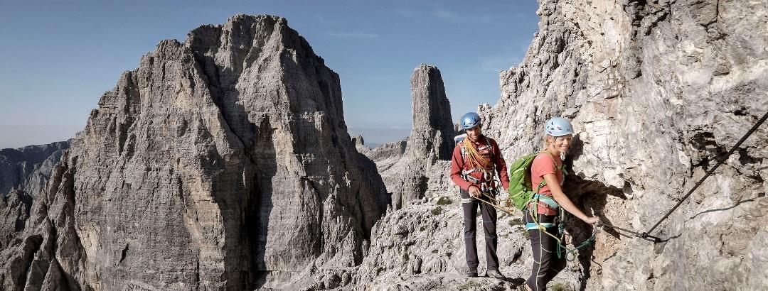 Klettersteige im Trentino