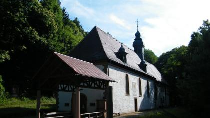 Die Kolmerbergkapelle beherbergt die älteste Glocke der Pfalz.