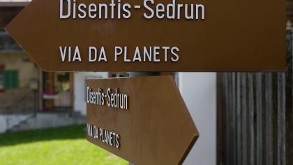 Planetenweg Wegweiser