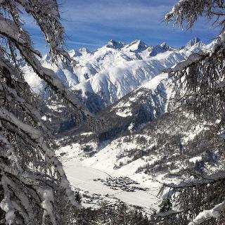 Blaswald-Trail Aussicht