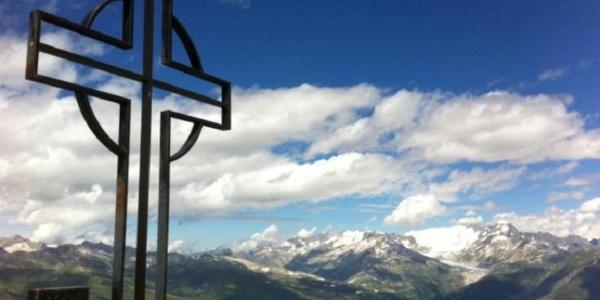 Brudelhorn Gipfelkreuz