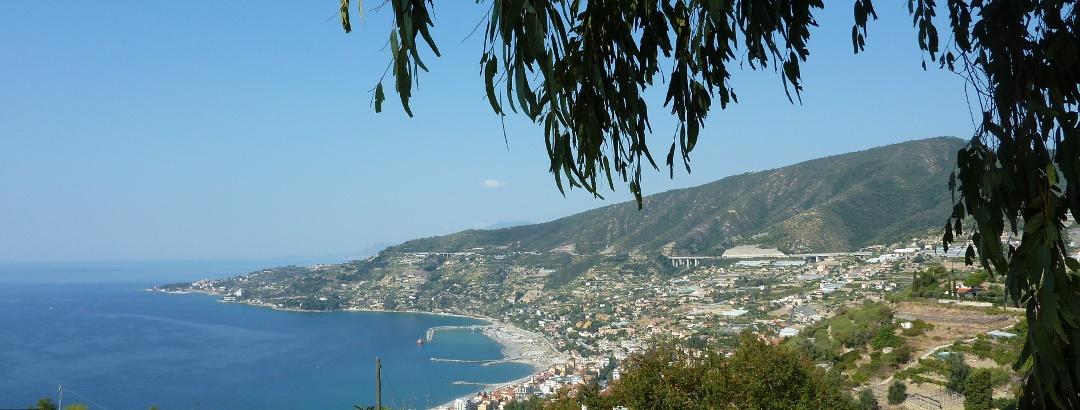 Ausblick bei San Remo