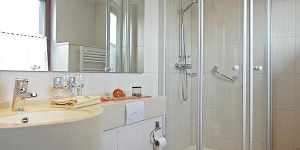 Badezimmer eines der Gästezimmer