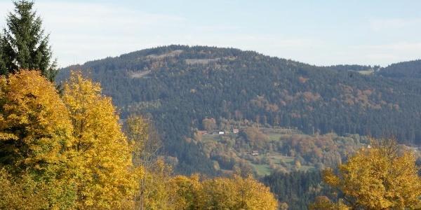 Blick von Riedelswald zur Käsplatte