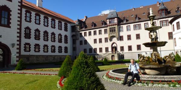Schloß Elisabethenburg-Innenhof