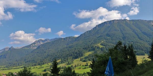 Blick vom MIlchhäusl auf den Breitenberg