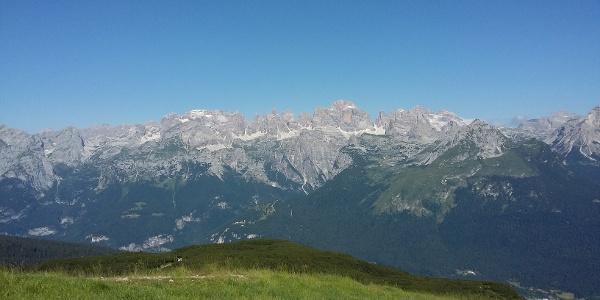 Le Dolomiti di Brenta dalla Paganella