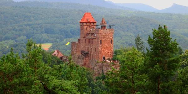 Auf der Besichtigungstour durch die Burg erfahren Sie viel Geschichtliches. Es lohnt sich!