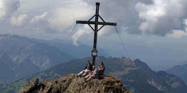 Gipfel der Lobspitze