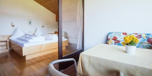 Schlafzimmer Dachwohnung