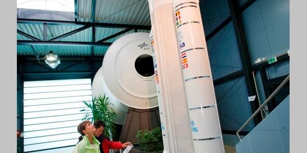 Besuch in der Deutschen Raumfahrtausstellung in Morgenröthe-Rautenkranz