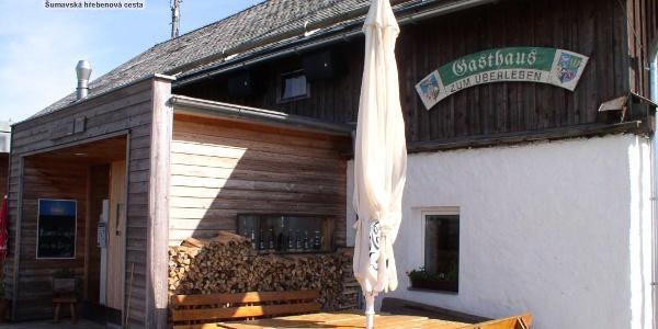 Gasthaus zum ÜBerleben direkt am Nordwaldkammweg beim Aufstieg zum Hochficht
