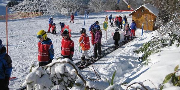 Förderband im Skikarussell Altastenberg