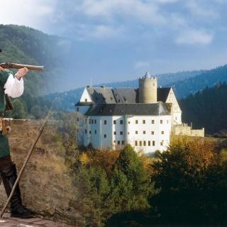 Burg Scharfenstein mit Karl Stülpner