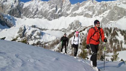 Skitourenparadies in der Ramsauer Almenregion