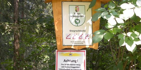 Seit 2016 ist die Steyrschlucht Naturschutzgebiet!