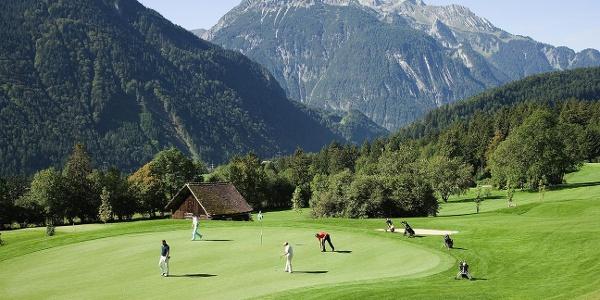 Golfen im Golfclub Bludenz-Braz