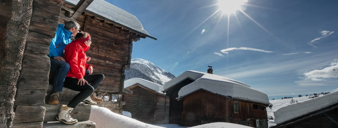 Winter im Obergoms