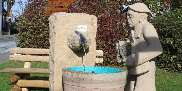 Bleiwäscher Skulptur