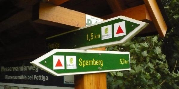 "Schutzgebiet ""Grünes Band"" bei Pottiga"