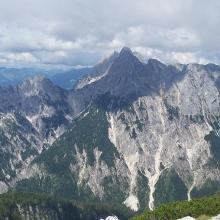 Blick vom Gipfel auf die Reiteralpe