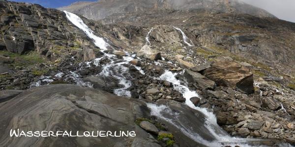 Wasserfallquerung