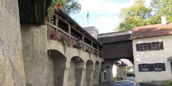 Stadtmauer mit Maxtor in Schongau
