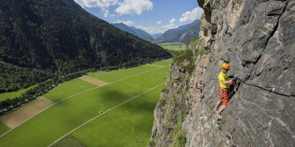 Klettersteig Reinhard Schiestl