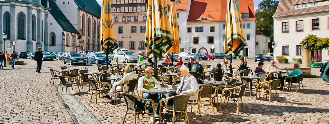 Silberstadt Freiberg Untermarkt