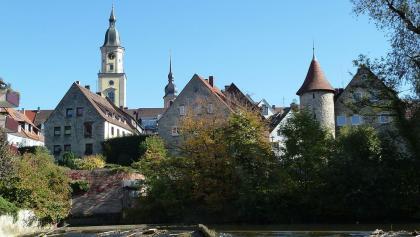 Schleifenroute   Crailsheim Blick auf die Stadt