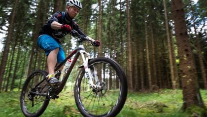 Mountainbiken in Churfranken