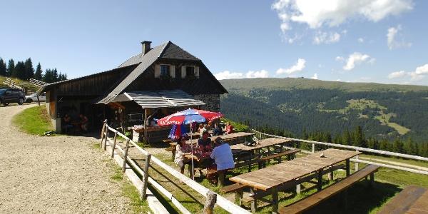 Saualpe - Ladingerhütte