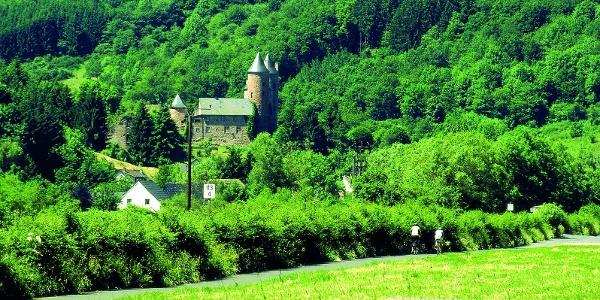 Kyll-Radweg_Bertradaburg bei Mürlenbach