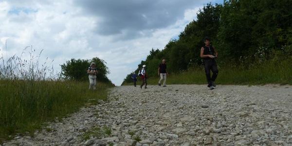 Steiniger Weg zwischen Straußberg und Ebeleben