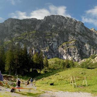Benediktenwand Blick von Tutzinger Hütte