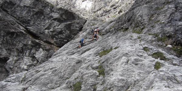 Die Wasserfallwand