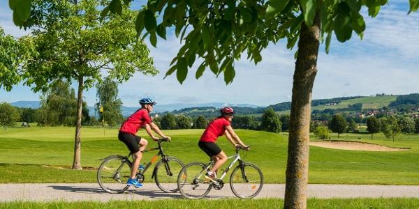 Radfahren in der 2-Thermenregion Bad Waltersdorf