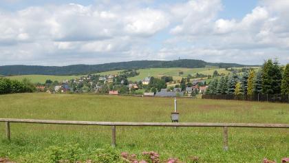 Hinterhermsdorf, Blick von der Buchenwaldhalle