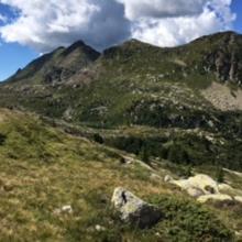 Blick auf den Lago delle Trote