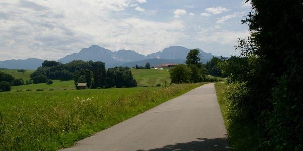 Radweg bei der Kupfmühle