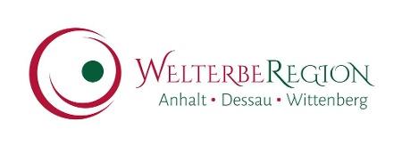 Logo Welterberegion Anhalt Dessau Wittenberg / IMG Sachsen-Anhalt mbH