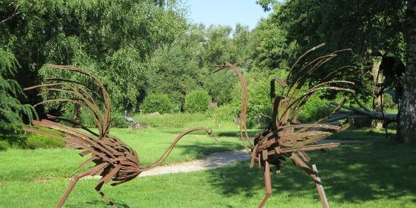 Skulpturenpark Kruft in Niederprüm