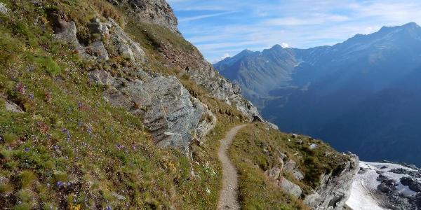 Abstieg vom Col des Otanes