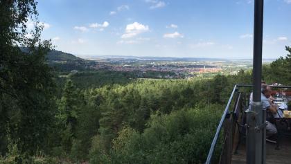 Blick nach Goslar