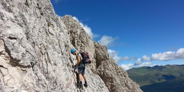 Klettersteig Aldo Roghel