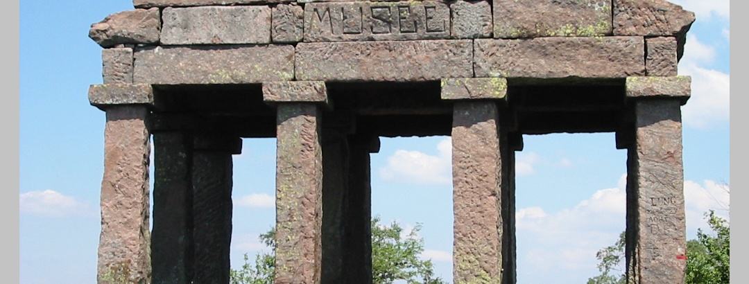 Tempel auf dem Donon