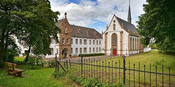Blick auf Abtei Mariawald