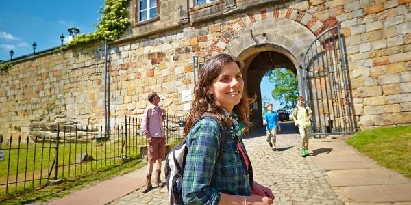 Vorplatz Burg Bentheim