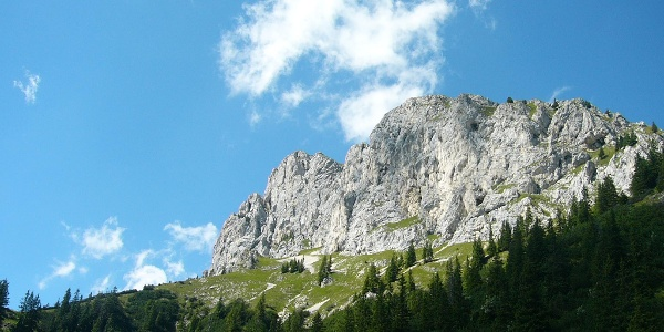 Imposanter Bergblick
