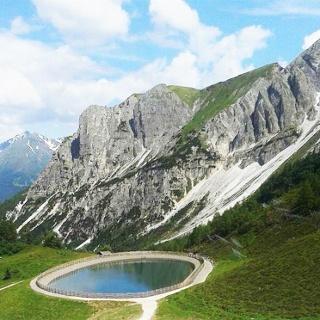 Vista dal Rifugio Stella Alpina